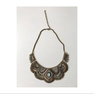 Vintage Beaded Collar Necklace